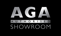 aga authorised showroom logo_silver high res